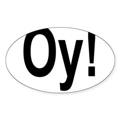Oval Sticker (Oval 50 pk)