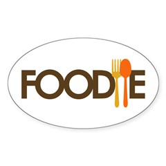 Foodie Sticker (Oval 50 pk)