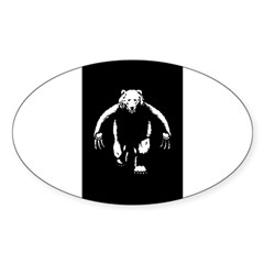 Bearman! Sticker (Oval 50 pk)