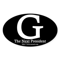 Guiliani 08 Rectangle Sticker (Oval 50 pk)