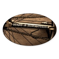 Revolution Sticker (Oval 50 pk)