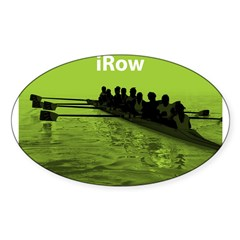 iRow Rectangle Sticker (Oval 50 pk)