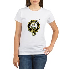 Clan Gunn black Organic Women's T-Shirt