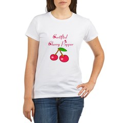 Certified Cherry Popper Organic Women's T-Shirt
