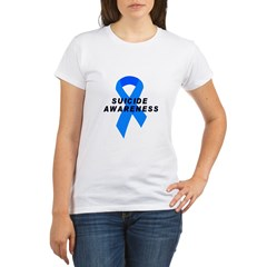 Suicide Awareness Organic Women's T-Shirt
