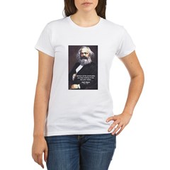 Union of Workers: Marx Organic Women's T-Shirt