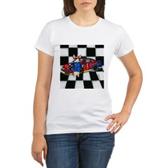 Start Your Engines! Organic Women's T-Shirt