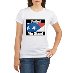 United We Stand Organic Women's T-Shirt