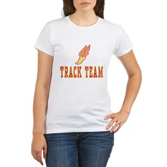 Track Team Organic Women's T-Shirt
