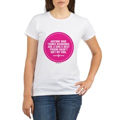 """Best Friend"" Organic Women's T-Shirt"