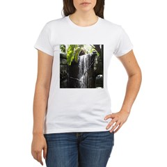 Waterfall Organic Women's T-Shirt