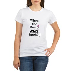 Who's the Bunny Organic Women's T-Shirt