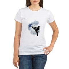 Power Kick 2 Organic Women's T-Shirt