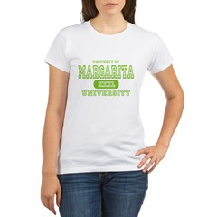 Margarita University Organic Women's T-Shirt