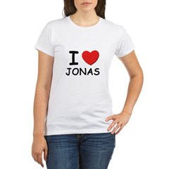 I love Jonas Organic Women's T-Shirt