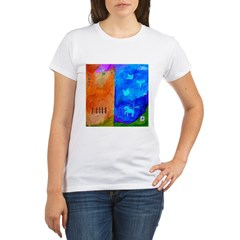 Night Fall Freedom Organic Women's T-Shirt
