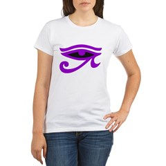 Purple Organic Women's T-Shirt