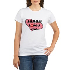 jabari loves me Organic Women's T-Shirt