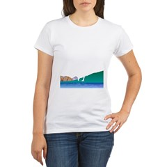 Golf Everywhere Organic Women's T-Shirt