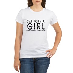California Girl, Organic Women's T-Shirt