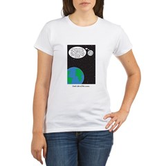 dark side of moon Organic Women's T-Shirt