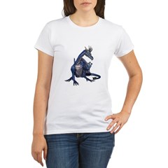 Blue Dragon Organic Women's T-Shirt