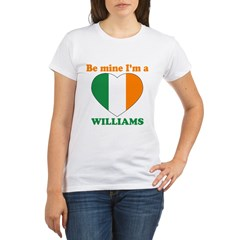 Williams, Valentine's Day Organic Women's T-Shirt