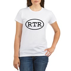 RTR Oval Organic Women's T-Shirt