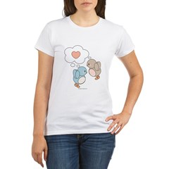 Love Birds Organic Women's T-Shirt
