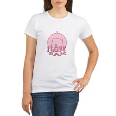 I Love Ham Organic Women's T-Shirt