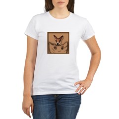 joey roo unlettered.jpg Organic Women's T-Shirt