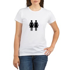 Gay Pride Women Organic Women's T-Shirt