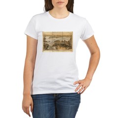 San Francisco and surrounding Organic Women's T-Shirt
