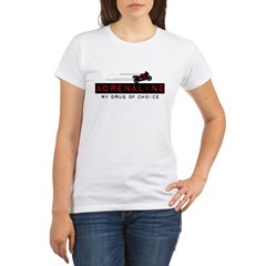 2 Wheel Attitude Organic Women's T-Shirt