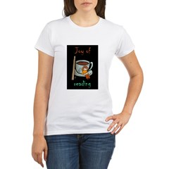 &quot;Joy of reading&quot; Organic Women's T-Shirt