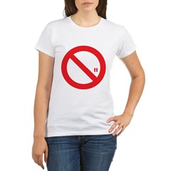Classic No Smoking Organic Women's T-Shirt