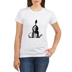 Sitting Bull Organic Women's T-Shirt