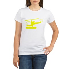 Helicopter Organic Women's T-Shirt