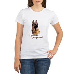 German Shepherd Dog-1 Organic Women's T-Shirt