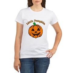 Little Pumpkin Organic Women's T-Shirt