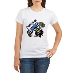 Breakdance Organic Women's T-Shirt