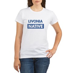 LIVONIA native Organic Women's T-Shirt