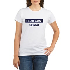 All about CRISTAL Organic Women's T-Shirt