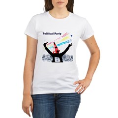 Political Party Organic Women's T-Shirt