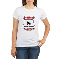 Shepherd On Guard Organic Women's T-Shirt