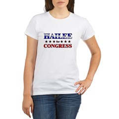 HAILEE for congress Organic Women's T-Shirt