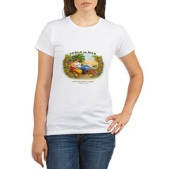 Perla del Mar Cigar Ad Organic Women's T-Shirt