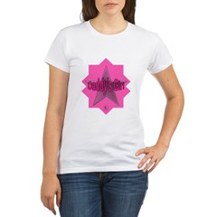 Daddy's Girl (Star) Organic Women's T-Shirt