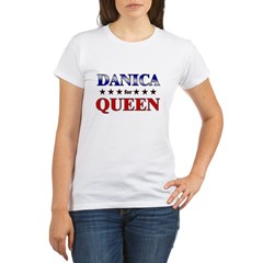 DANICA for queen Organic Women's T-Shirt