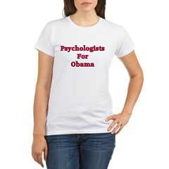 Psychologists For Obama Organic Women's T-Shirt